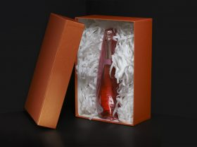 drink packaging, custom-made boxes and wavy cartons.