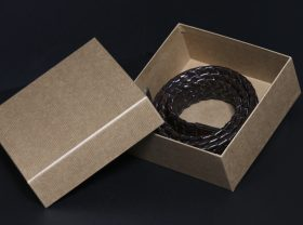 Appareal packaging , customized boxes, wavy cardboards