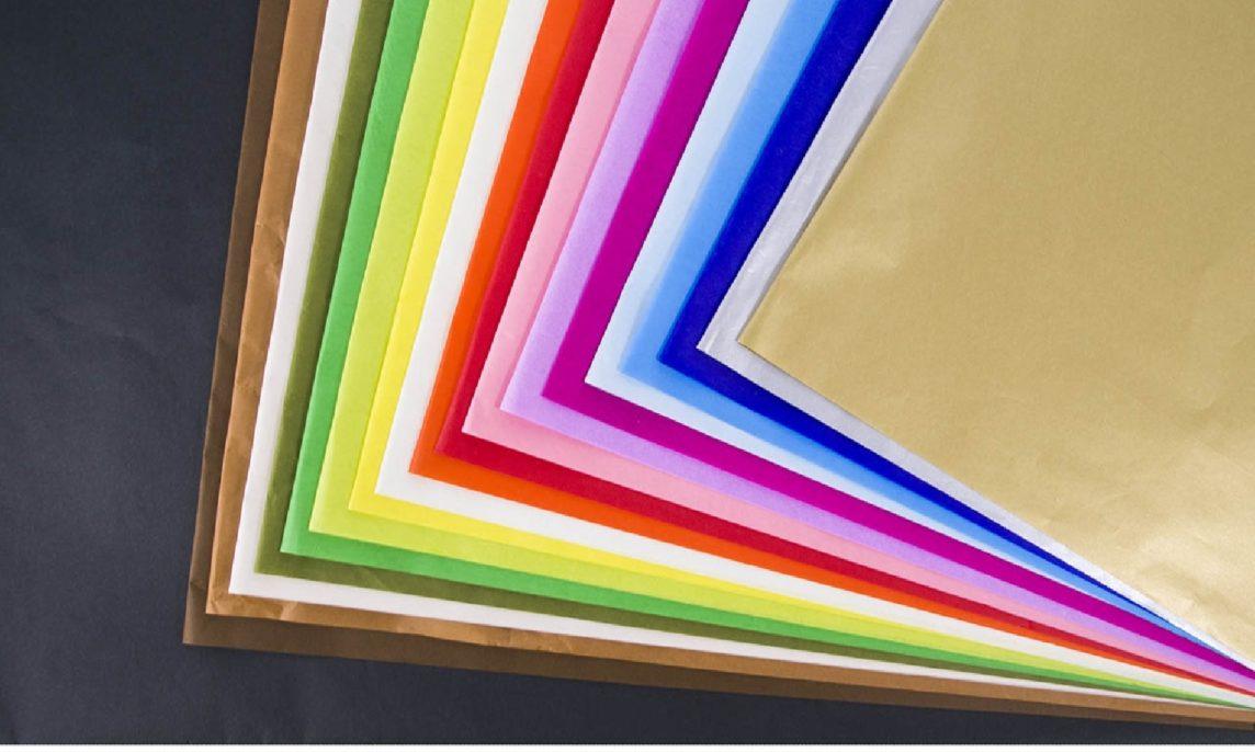 carta velina colorata e neutra